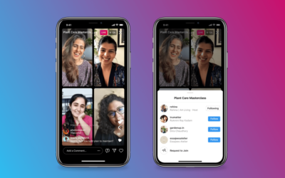 Instagram Live-Rooms – Facebooks Antwort auf Clubhouse?