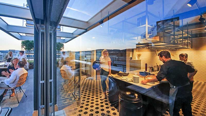 Westhive Rooftop Kitchen