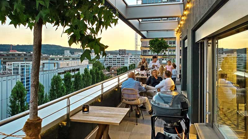 Westhive Rooftop Terrace