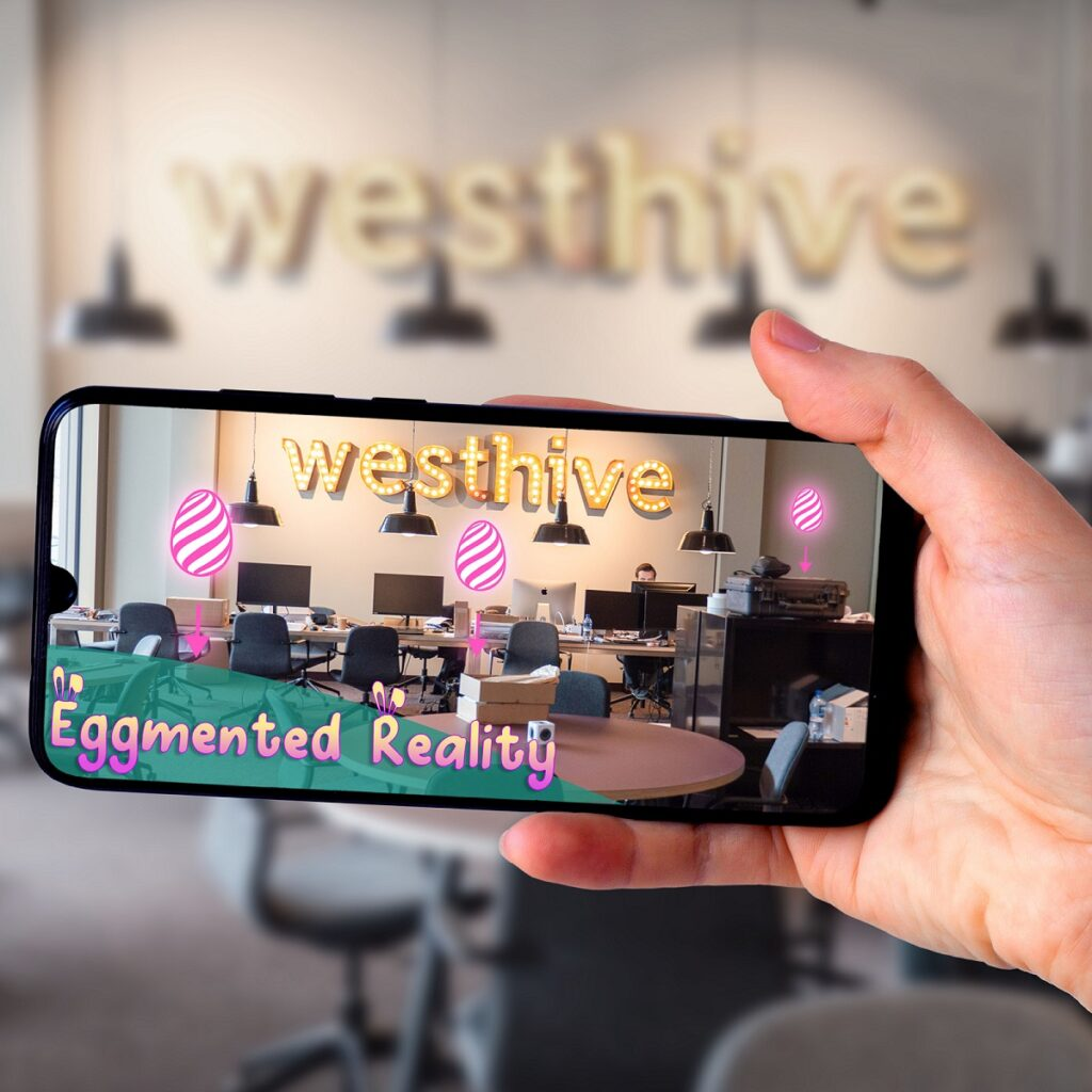 """Silicon Valley Startup """"Eggmented Reality"""" wird Westhive Member"""