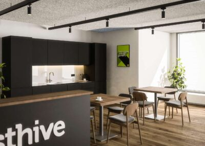 Westhive Zurich Bleicherweg – Kitchen